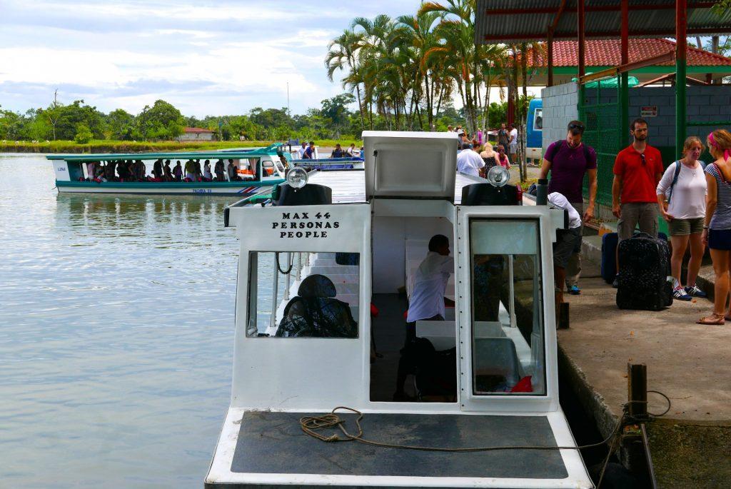Em Caño Blanco tem início o trajeto fluvial até Tortuguero
