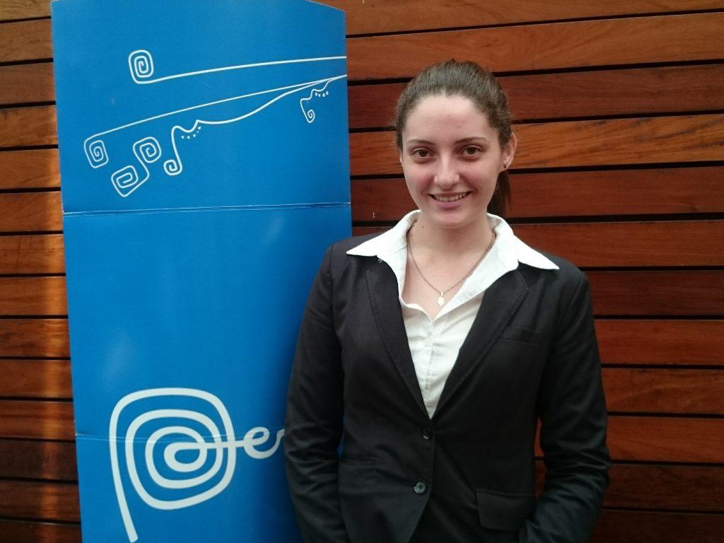 Ariadne Pereira, do turismo do Peru