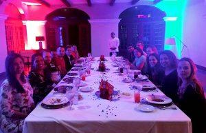 A noite terminou com jantar no Marriott Costa Rica