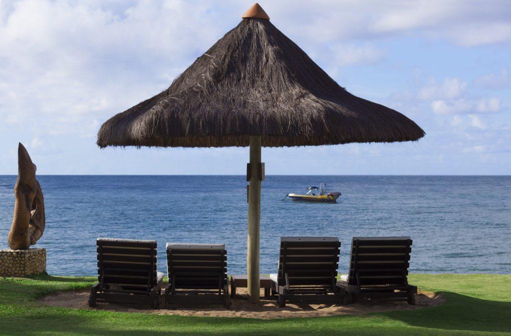 Cenário do Tivoli Ecoresort Praia do Forte, considerado um dos melhores resorts do Brasil