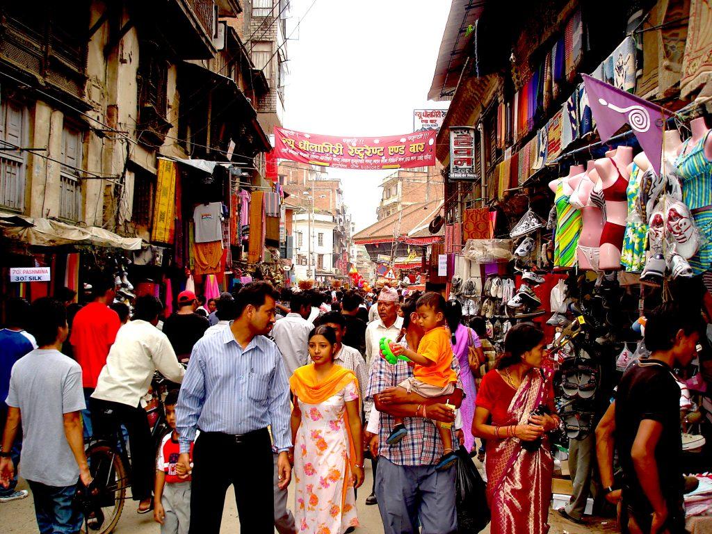 Dia de compras em Katmandu, no Nepal