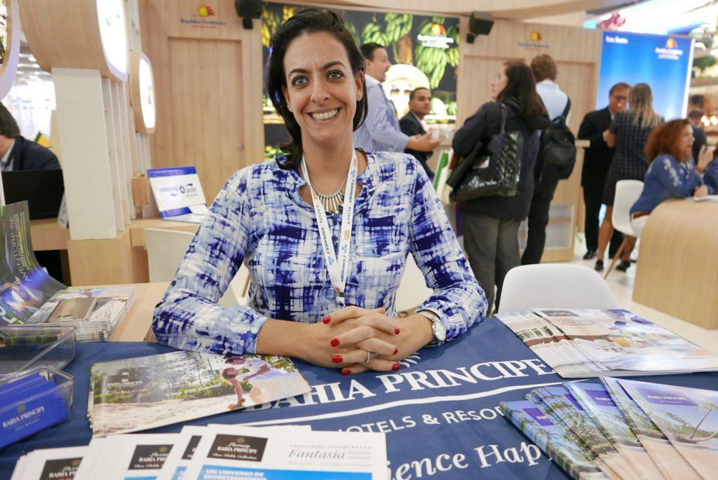 Alessandra Savoia, dos resorts Bahia Principe