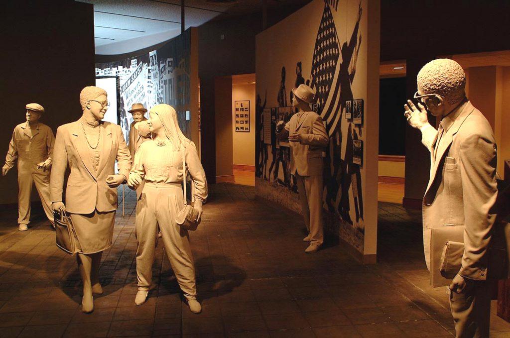 O Museu dos Direitos Civis em Birmingham, Alabama
