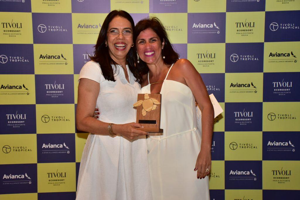 Lara Siqueira, da Journeys Special Travel, e Maria Helena Santana