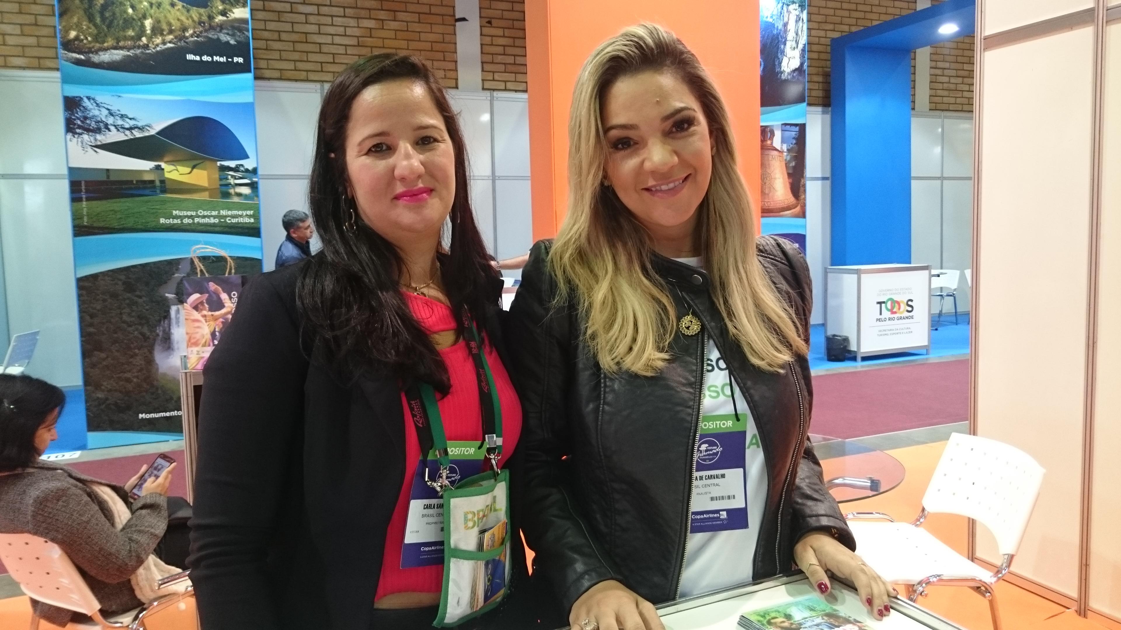 Carla Santana e Fabiana de Carvalho, da Brasil Cultural