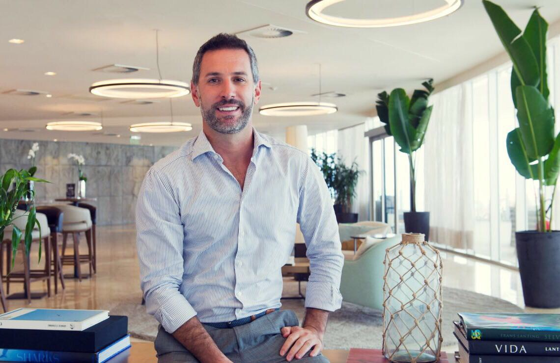 O empresário italiano Cristian Bernardi