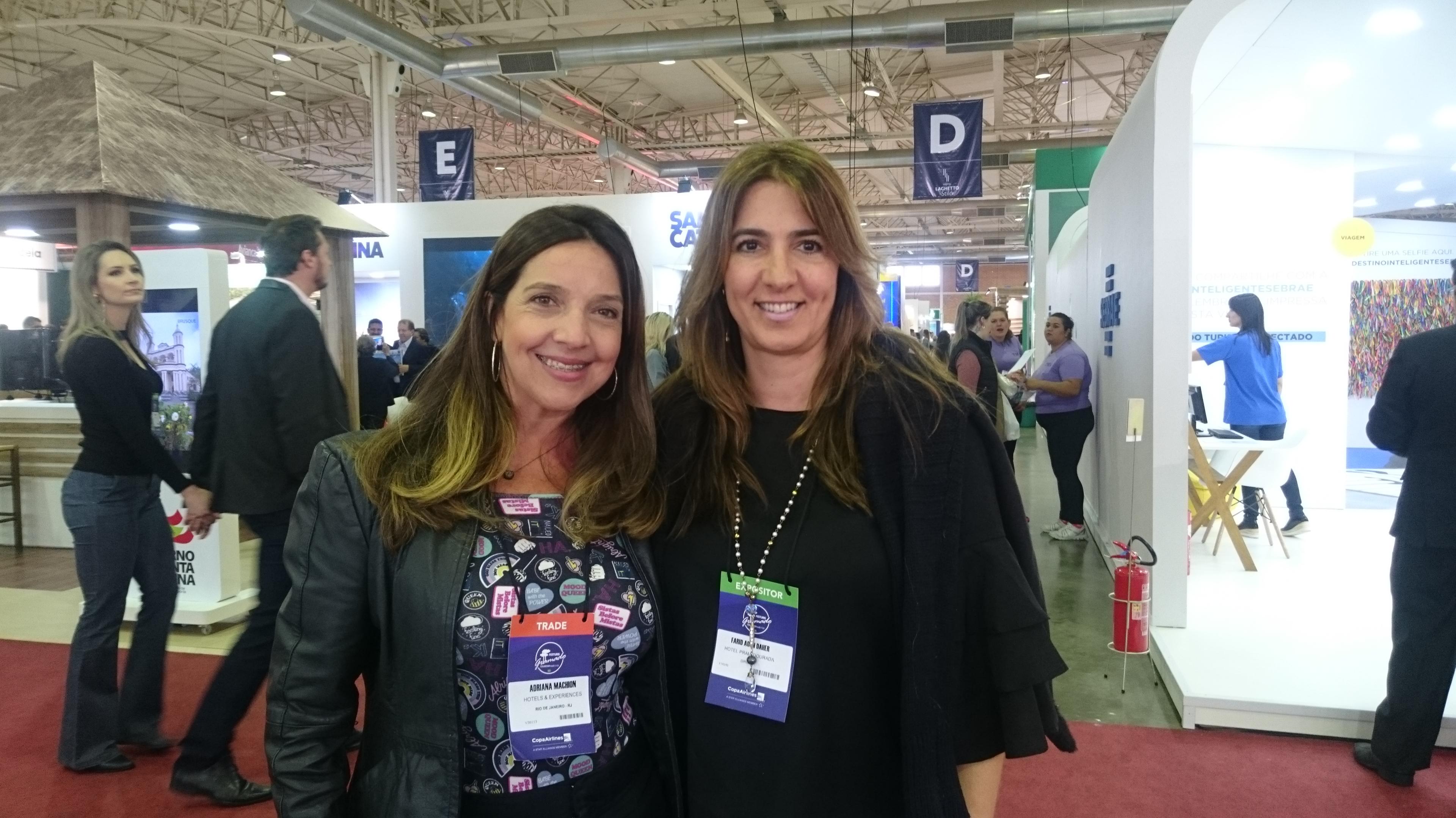 Gisele Torrano, da Eagles Team, e Adriana Machion, da Hotel Experience (1)