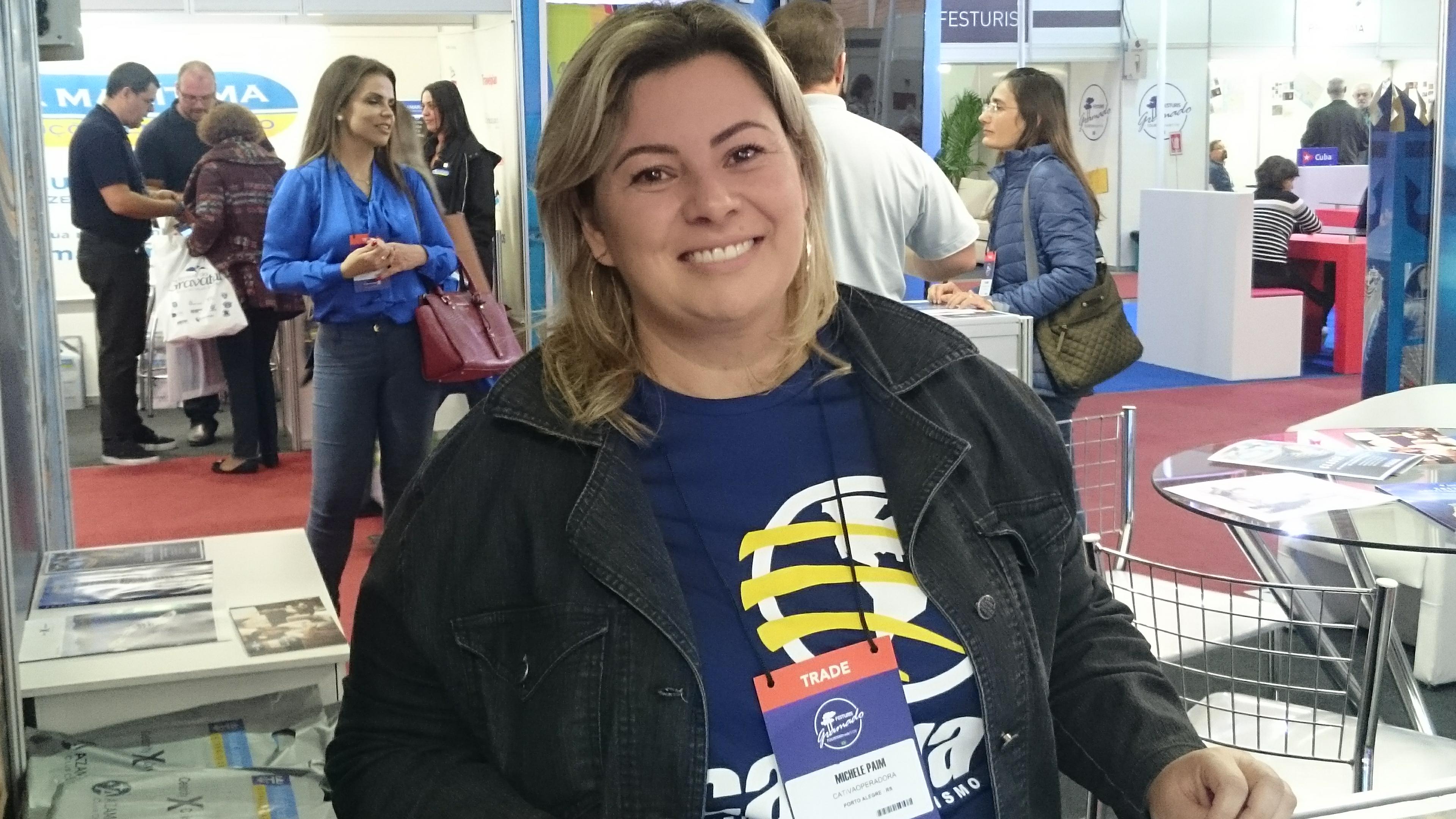 Michele Paim, da Cativa Operadora