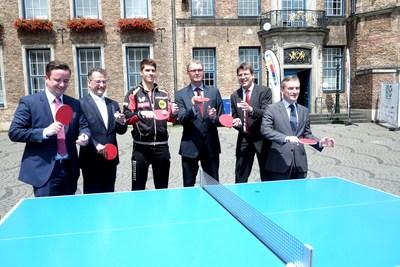 O Campeonato Mundial de Tênis de Mesa foi outra atração em 2017