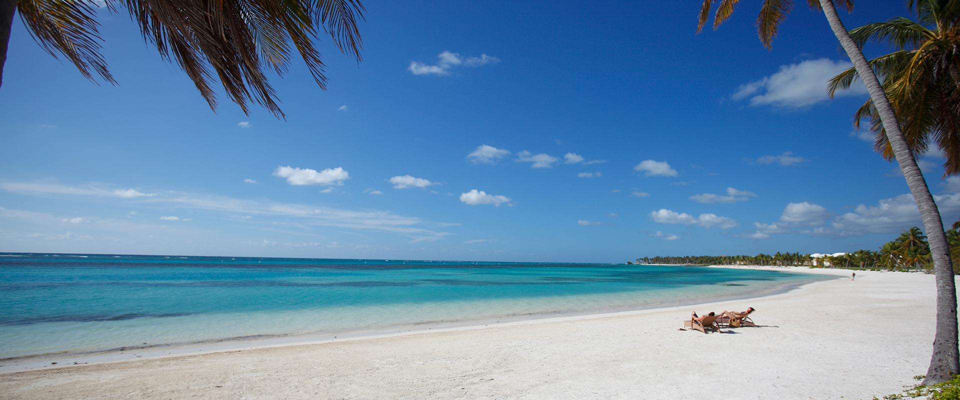 O icônico litoral de Punta Cana