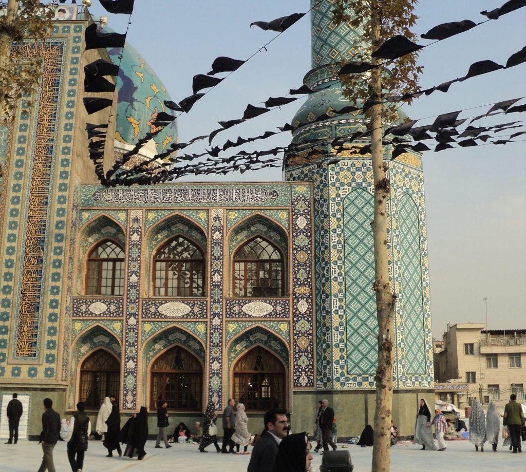 Mesquita em Teerã, capital do Irã