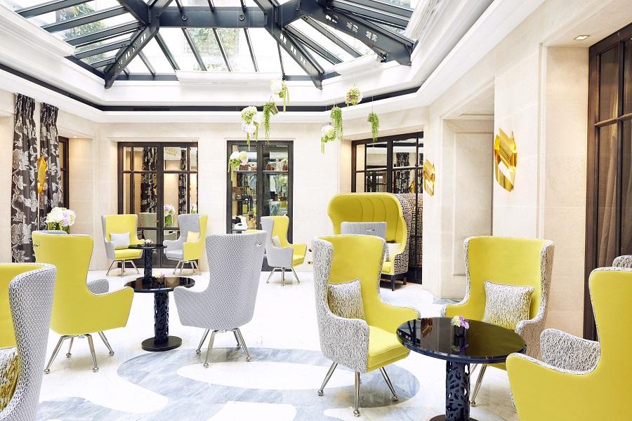 Atrium do Le Burgundy Paris