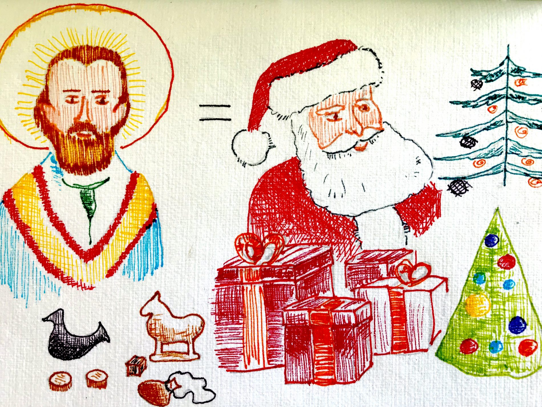 Natal ilustracao Tonaco