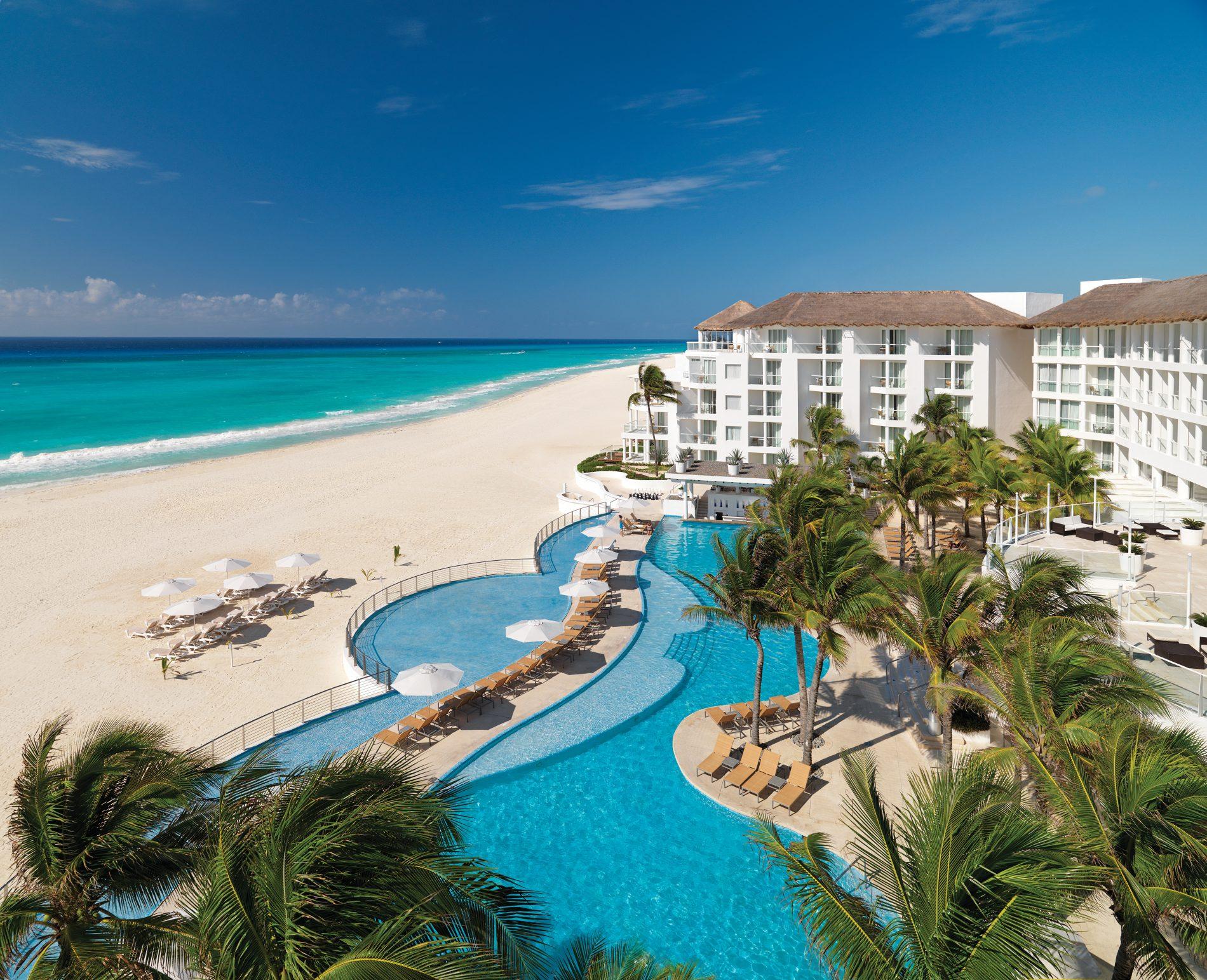 A localização privilegiada do Playacar, em Playa del Carmem (Palace Resorts/Divulgação)