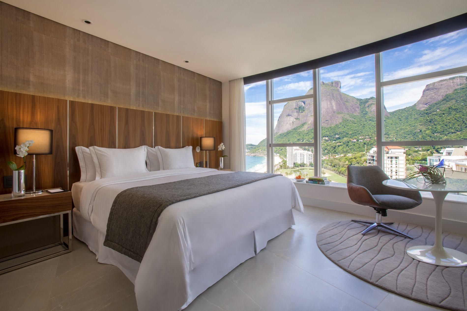 Suíte supreme do Gran Meliá Nacional Rio de Janeiro (Fotos: Meliá Hotels & Resorts/Divulgação)