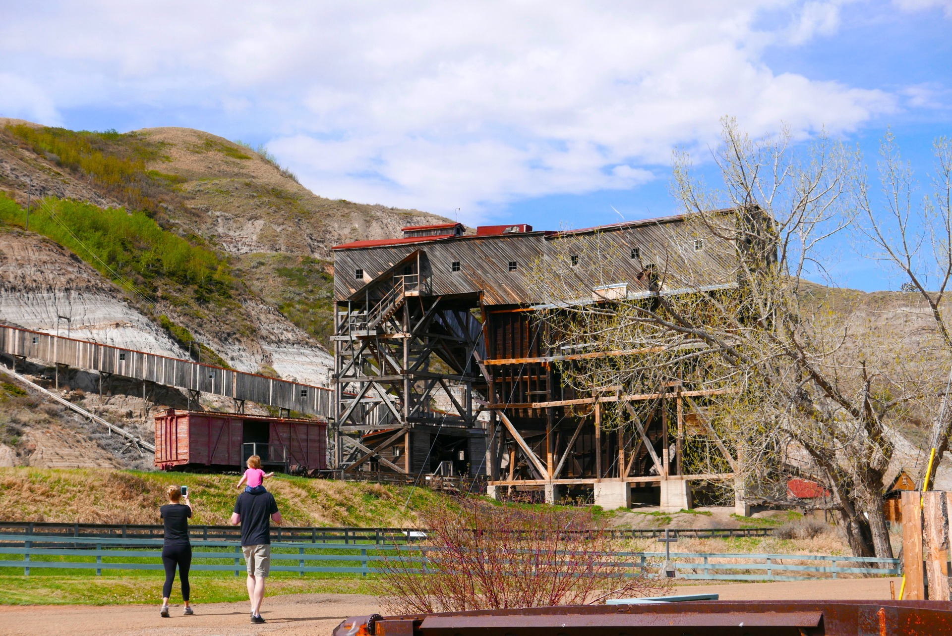 Entrada do Atlas Coal Mine (Claudia Tonaco)