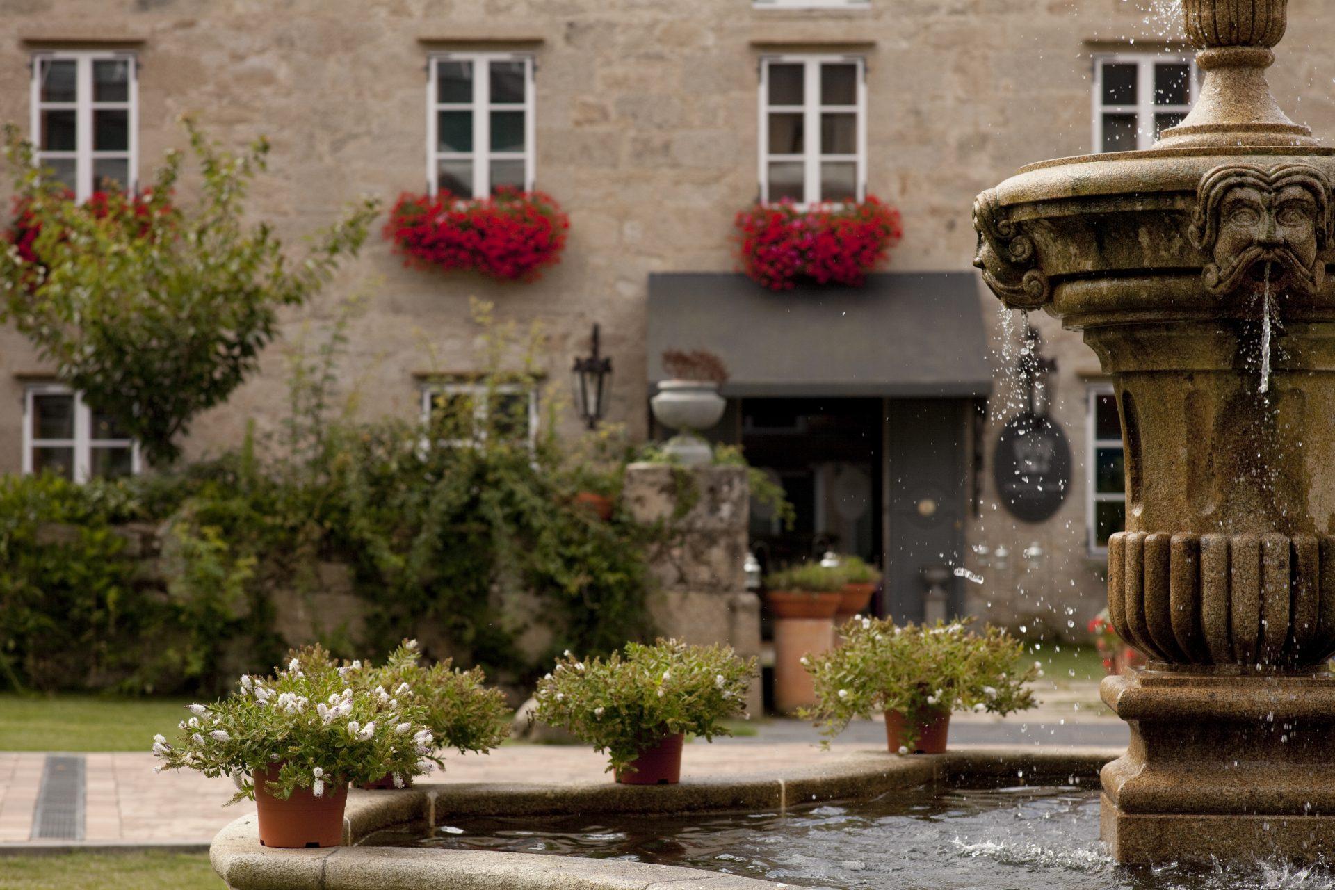 Detalhe da entrada do Hotel & Spa A Quinta da Auga