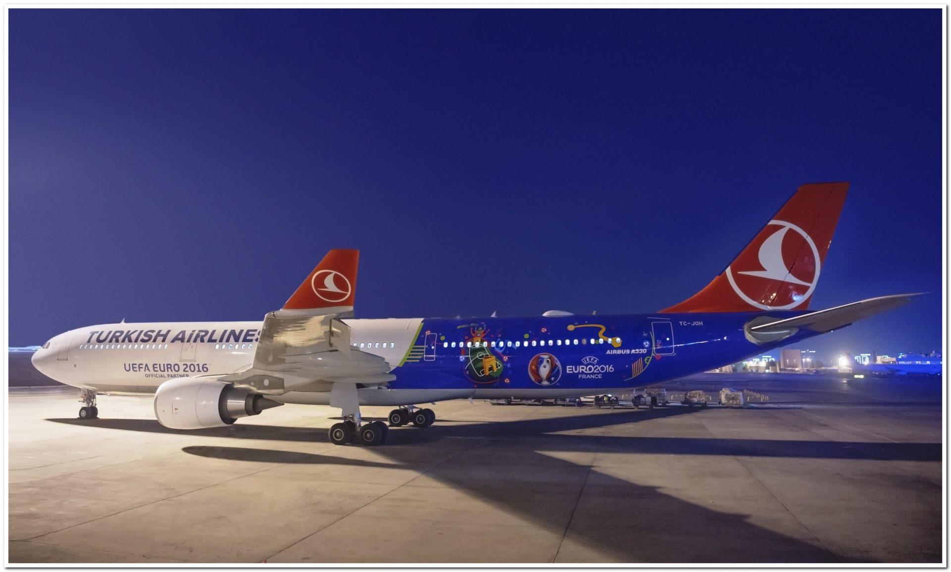 Avião da Turkish Airlines