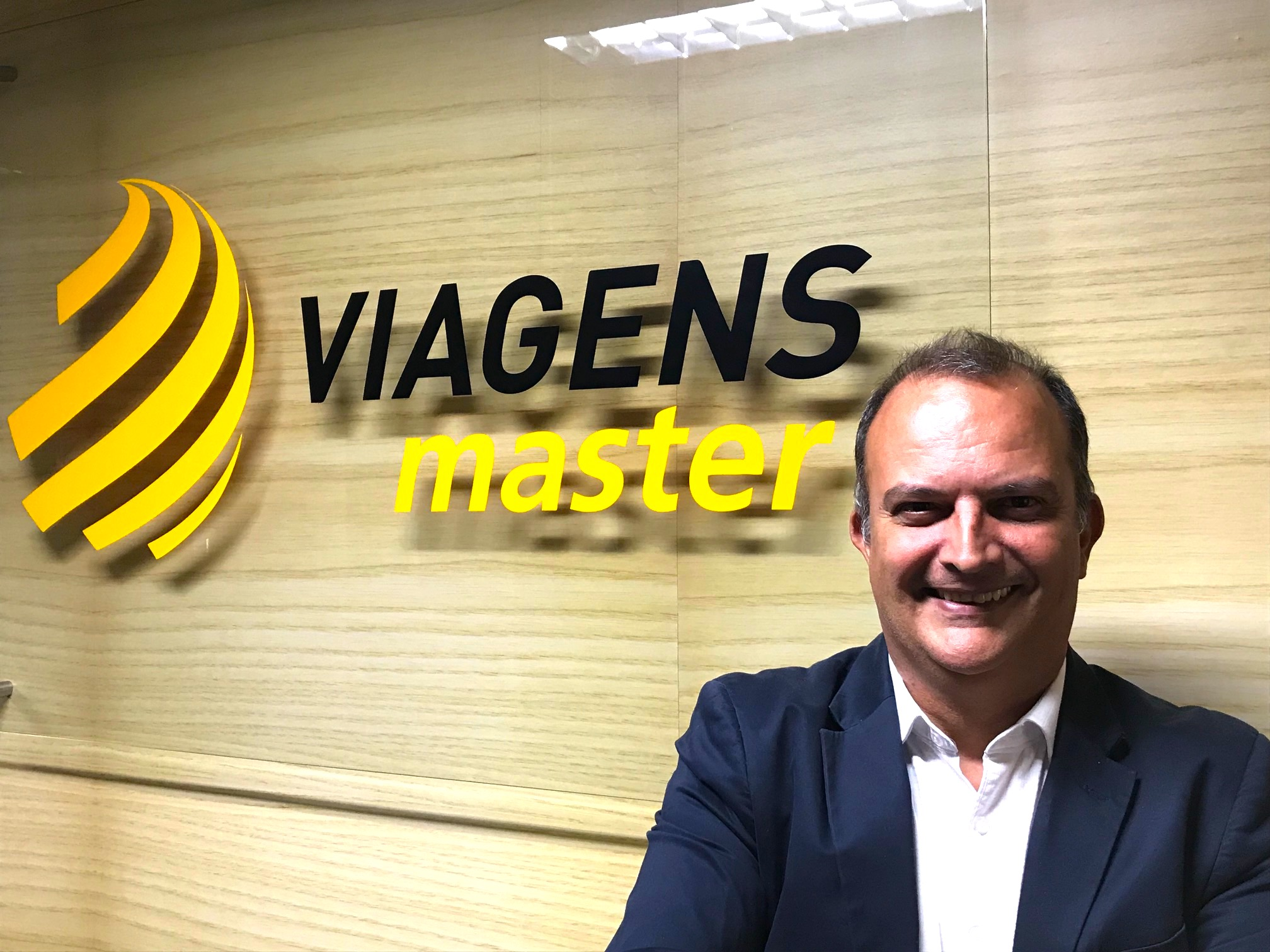 André Rossi, gerente de vendas da Viagens Master (Foto: Divulgação)