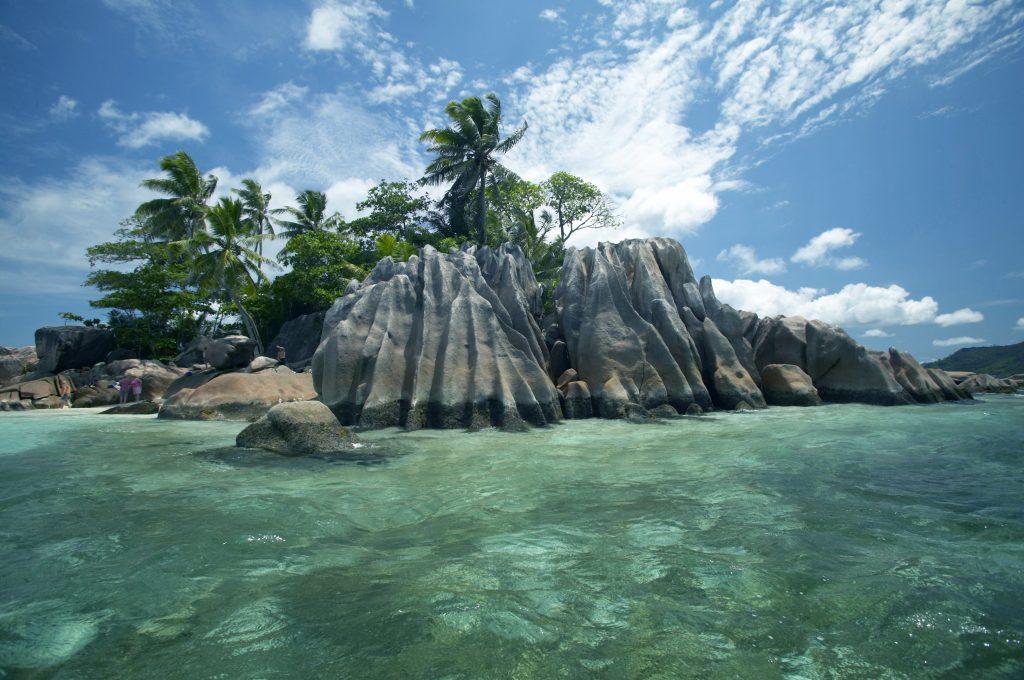 Seychelles = natureza exuberante + viajantes extasiados