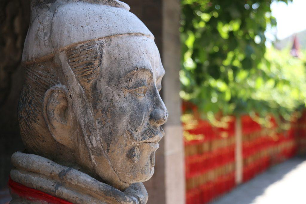 Estátua chinesa em Pequim