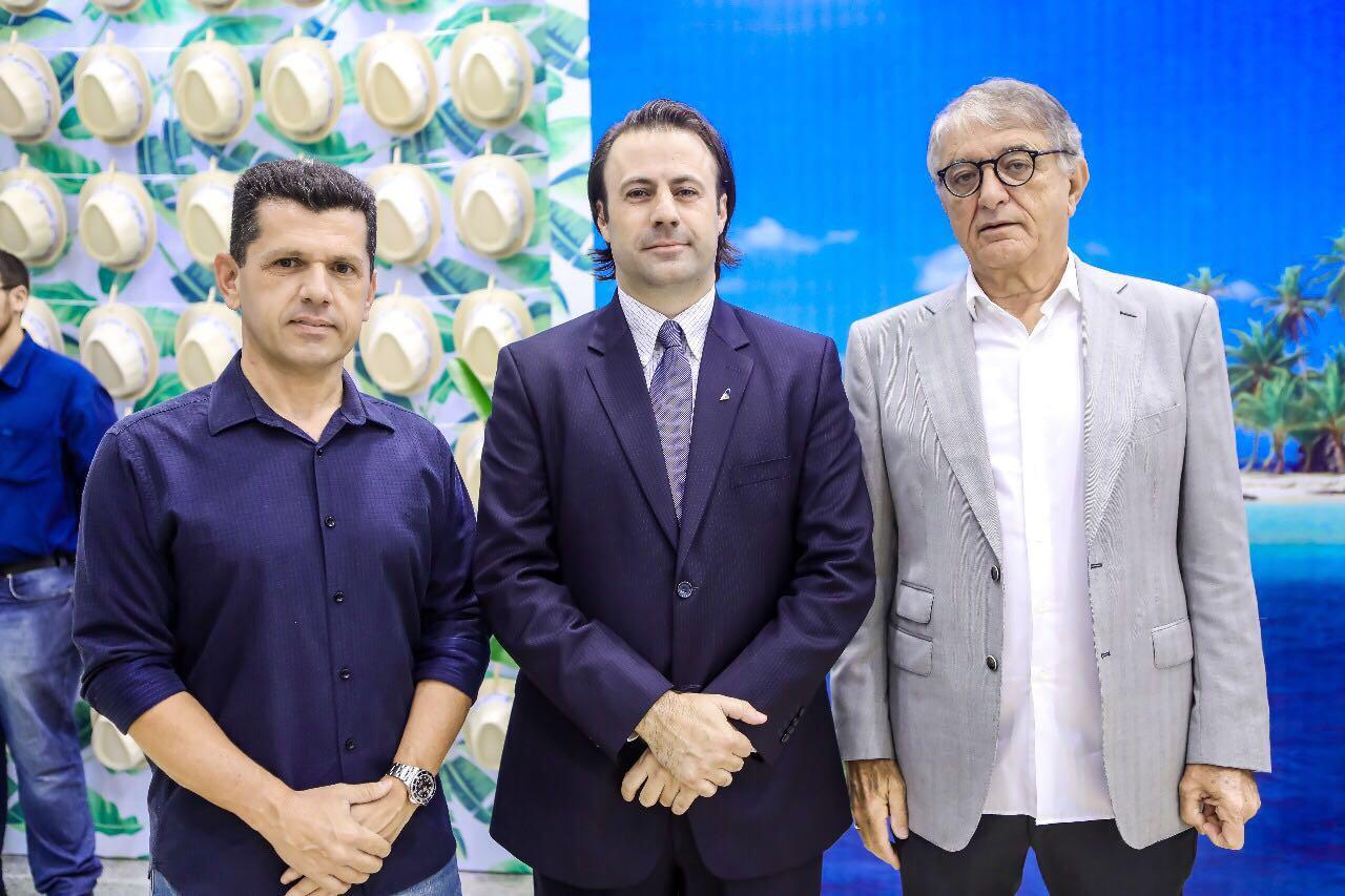Erick Vasconcelos, Secretário do Turismo de Fortaleza,Emerson Sanglard,chefe nacional da Copa Airlines eArialdo