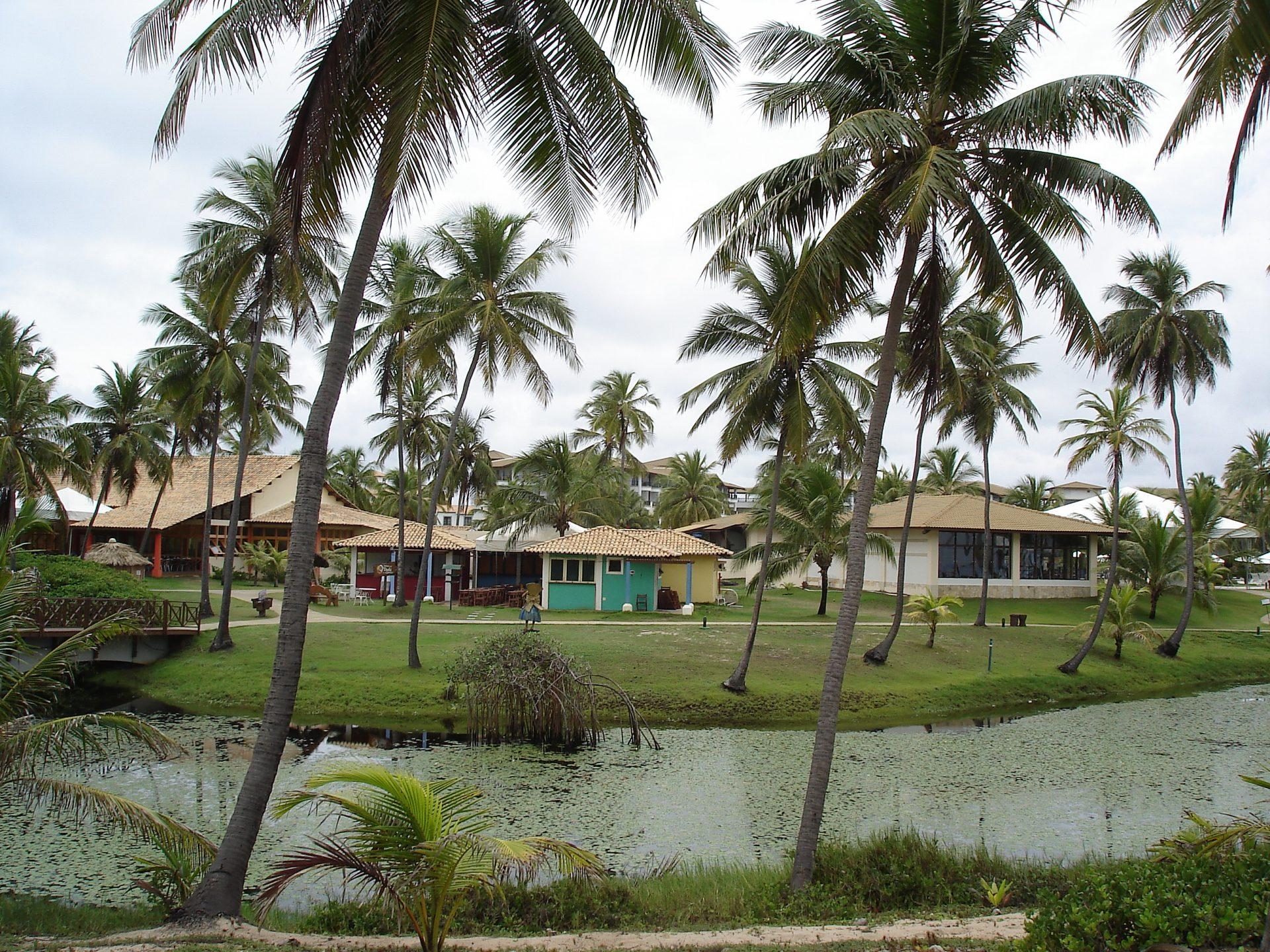 Vista do complexo Costa do Sauípe, na Bahia (Foto: Claudia Tonaco)