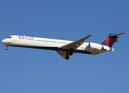Avião da Delta Air Lines