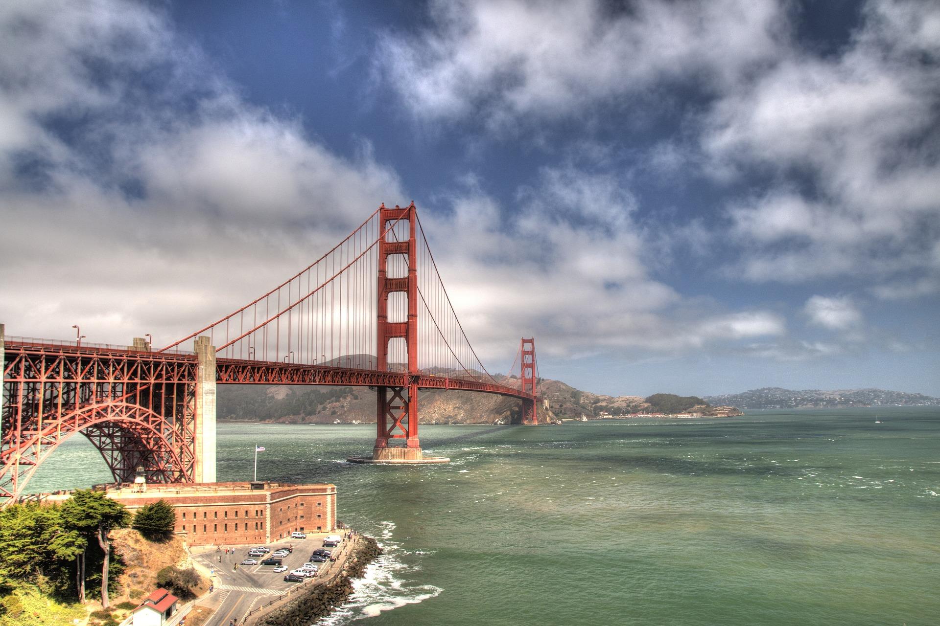 Ponte Golden Gate, em San Francisco = Cartão Postal da Califórnia
