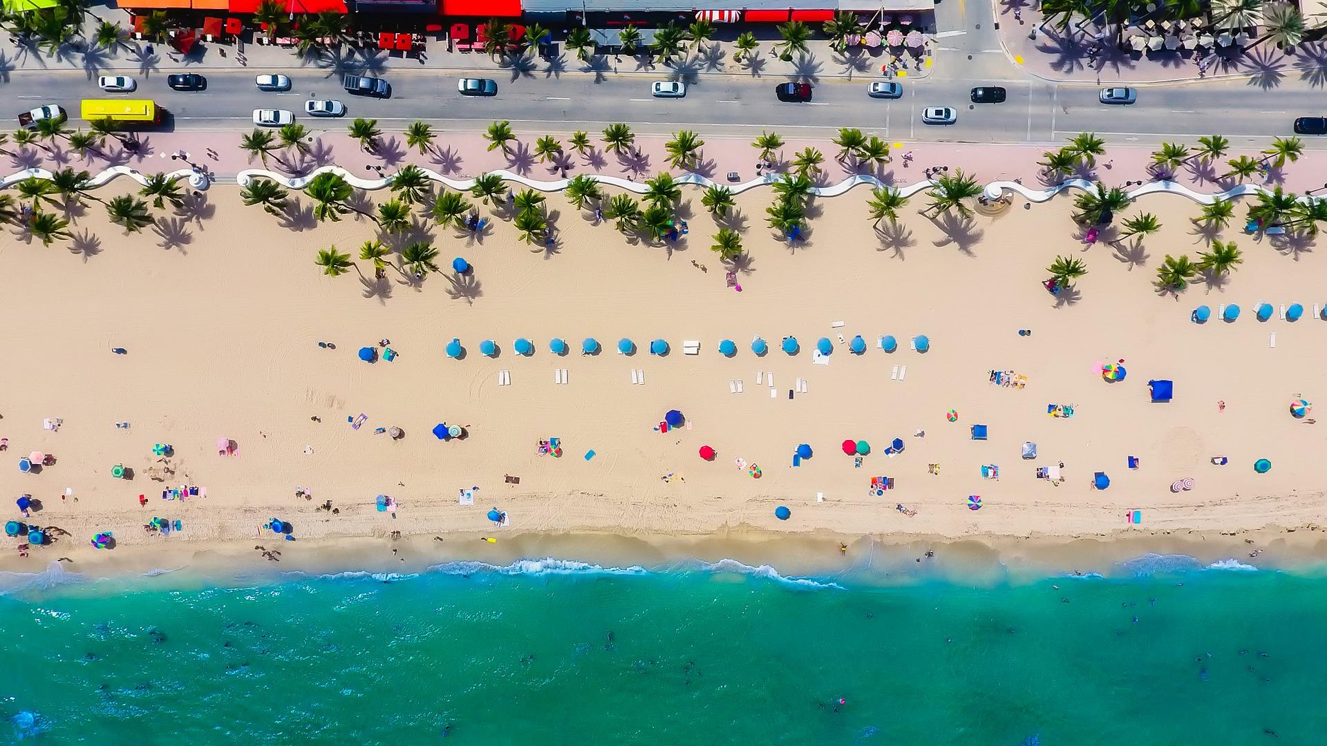 Fort Lauderdale tem praias para quem procura descanso