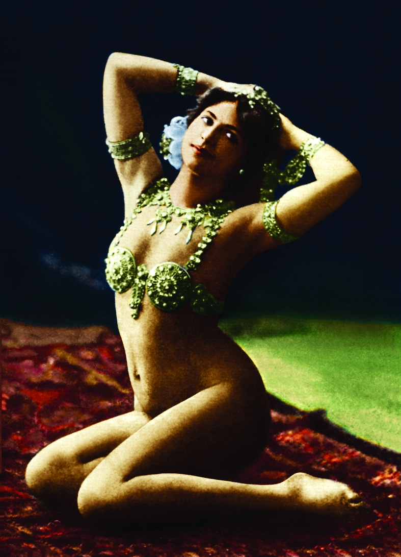 A vida de Mata Hari, em cartaz no Fries Museum
