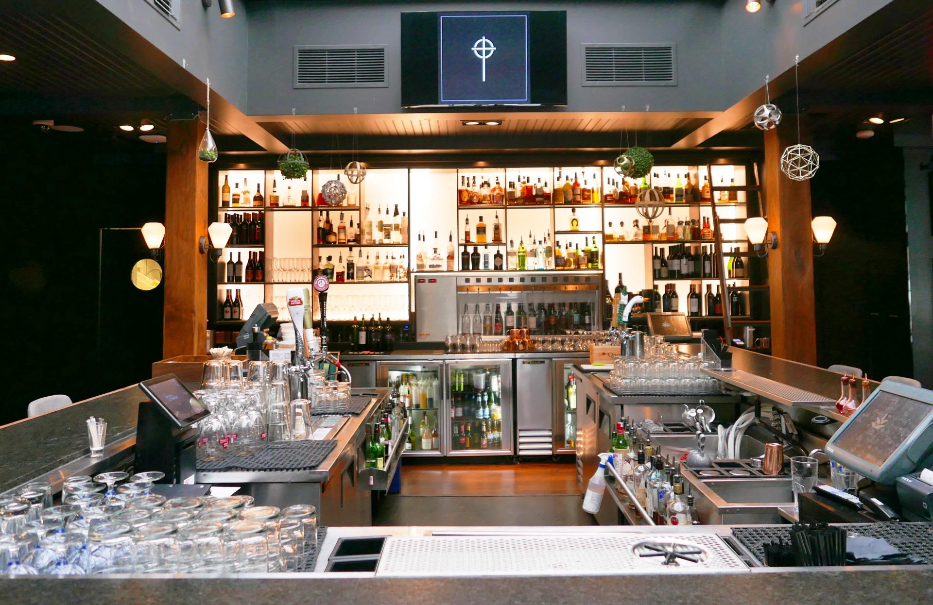 Bar do Mission Restaurant Calgary