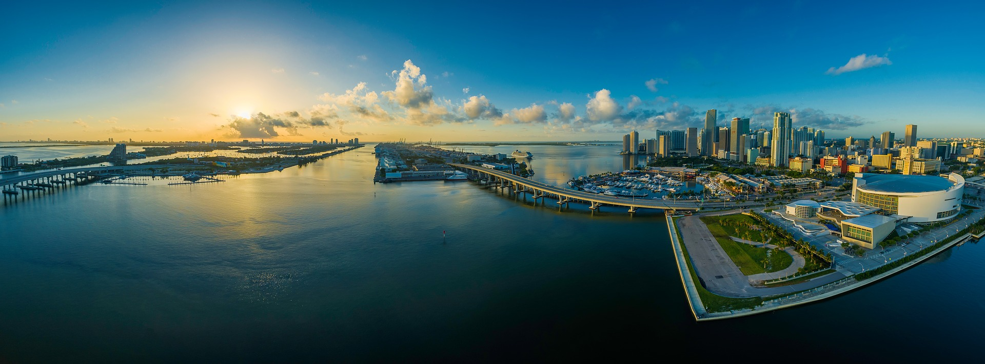 O cenário sedutor de Miami