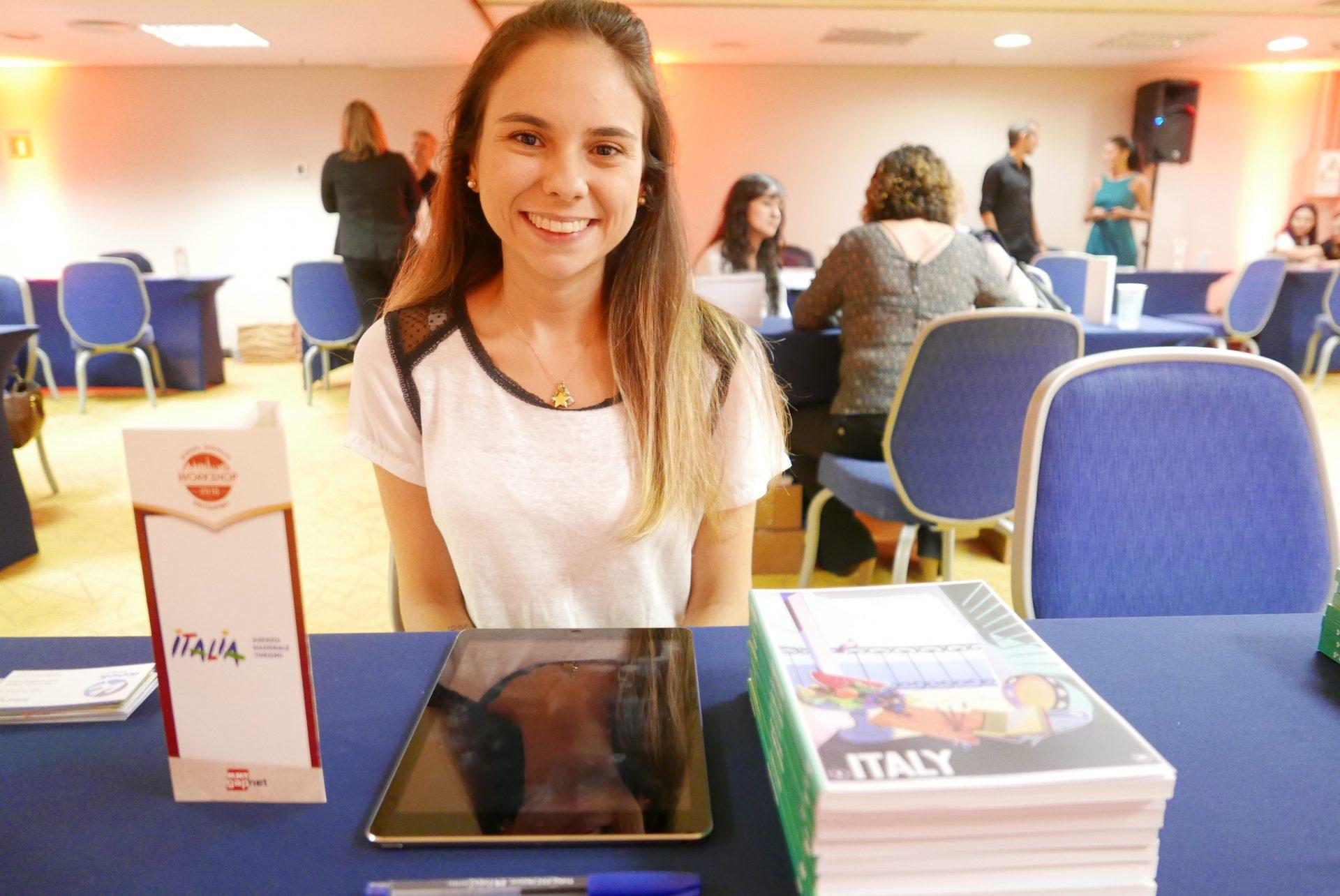 Carolina Pellegrini, da Enit, agência nacional do turismo italiano