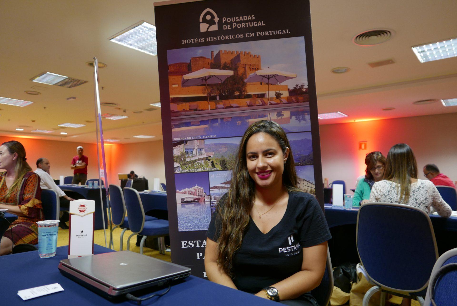 Danielle Boni, gerente de contas internacional do Pestana Hotel Group