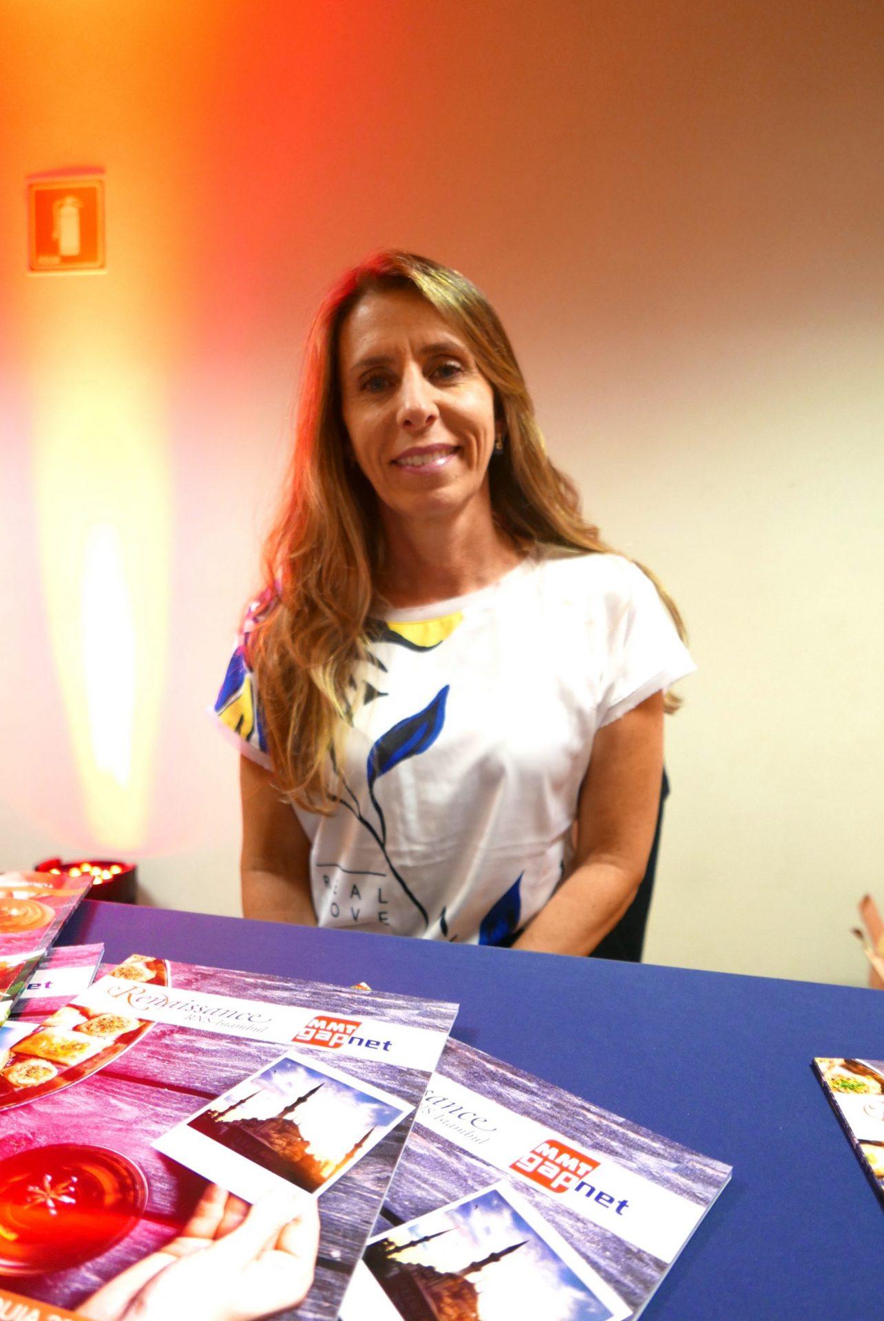 Eugenia Lycouressis, do departamento de vendas Brasil da Renaissance