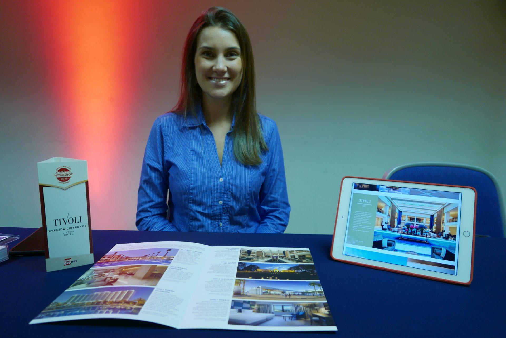 Clara Campos, do escritório Brasil da Minor Hotels
