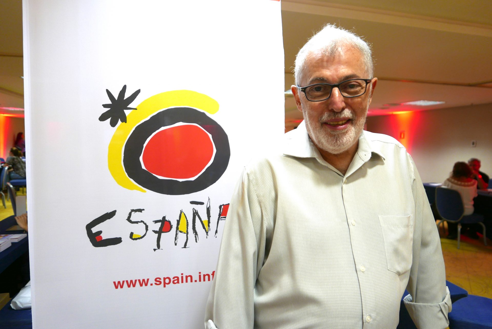 Adolfo Ramirez, do Turismo da Espanha