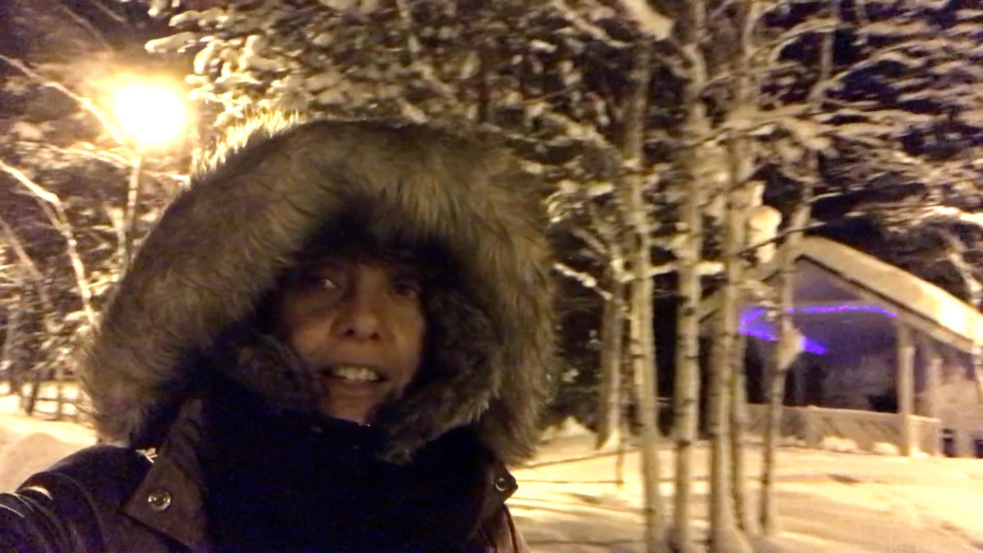 Caçada Aurora Boreal em Kirovsk