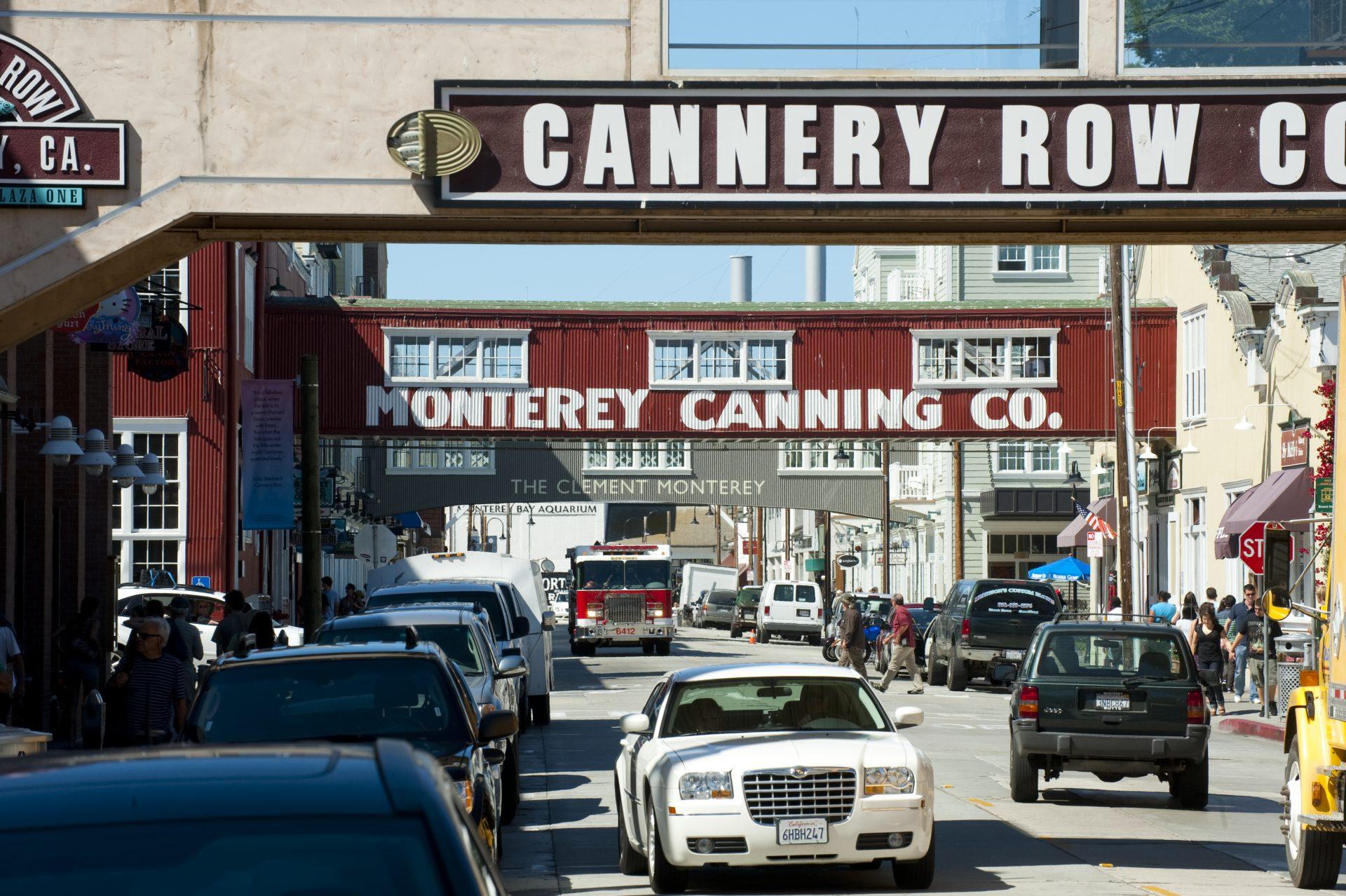 Cannery Row, a rua que é o cartão-postal de Monterey
