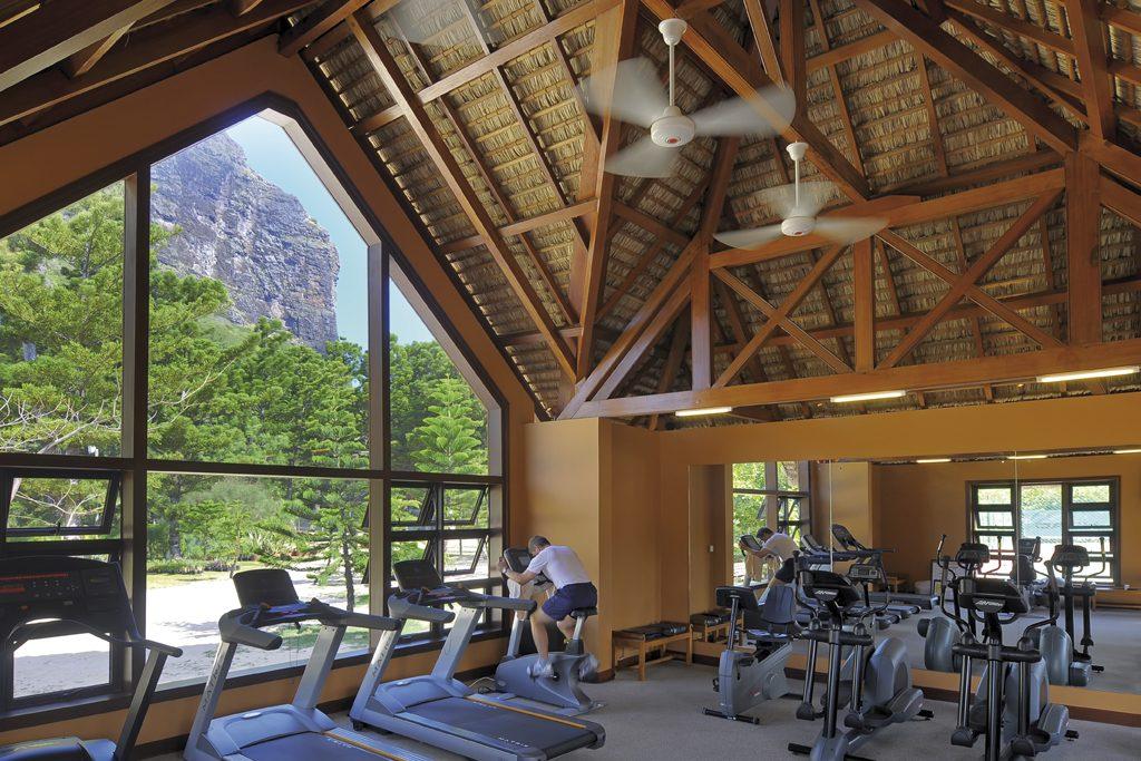 Sala de ginástica tem a mais moderna infraestrutura para o hóspede