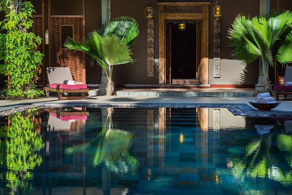 O clima de exclusividade e sofisticação prevalece mesmo quando o resort está com alta ocupação