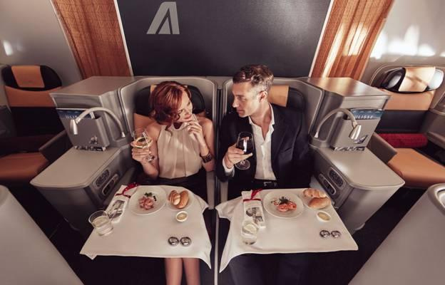 Viajar na Classe Magnifica, a Executiva da Alitalia é o grande prêmio da Campanha de Incentivo lançada pela companhia