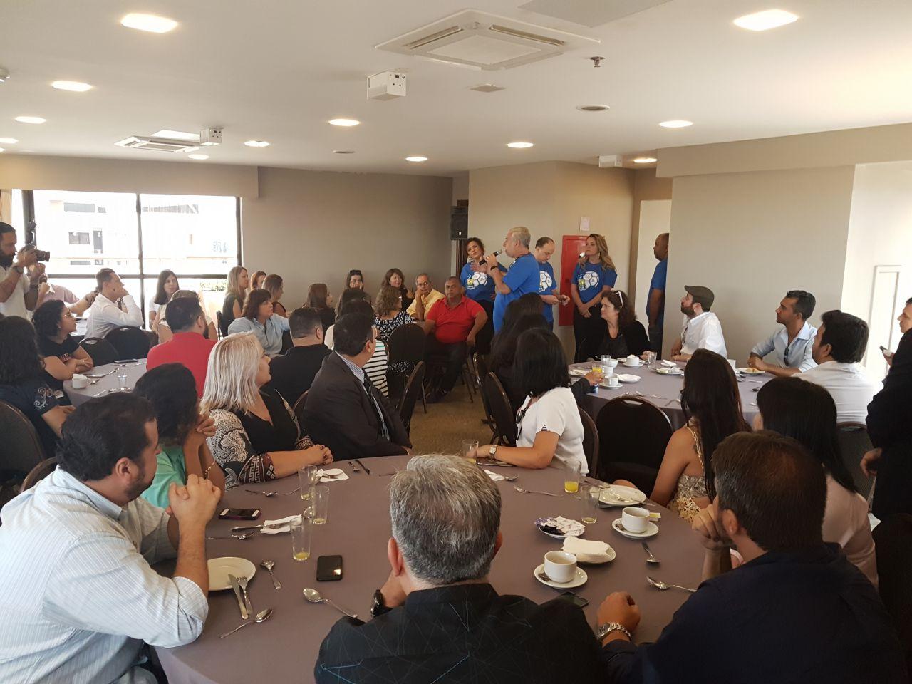 Michael Barkoczy explicou detalhes da fusão aos profissionais das agências de viagem de Brasília