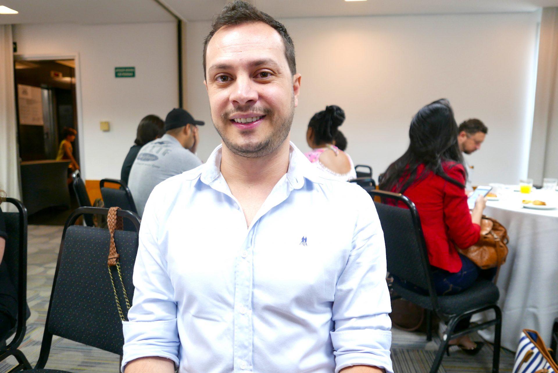 Renato Moura, gerente da Flytour Minas Shopping