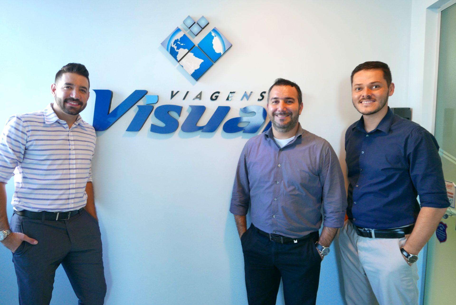 Hugo Lagares + Bruno Sousa + Ricardo Andrade = foco na performance comercial e no apoio aos agentes de viagem