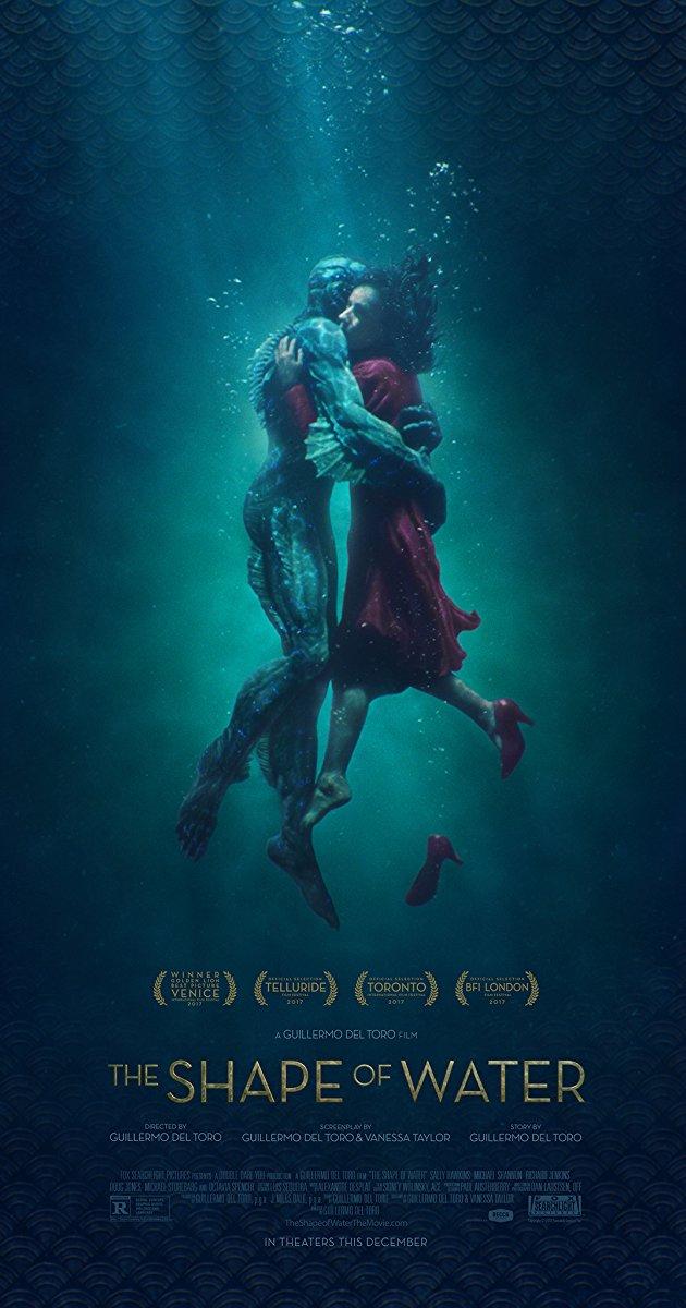 Cartaz do filme The Shape of Water (Fox Searchlight/Divulgação)