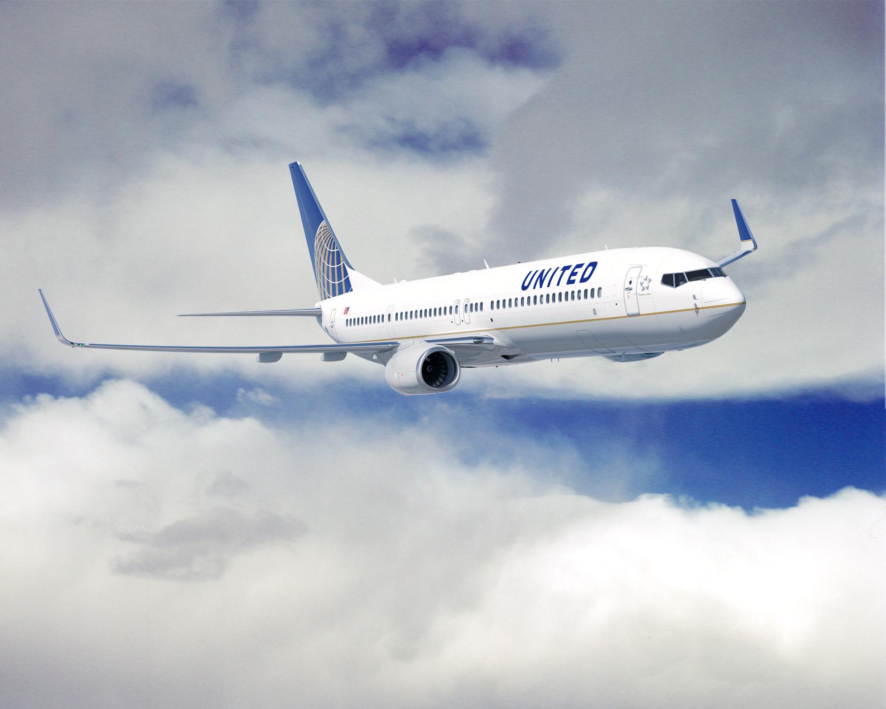 Avião United Airlines