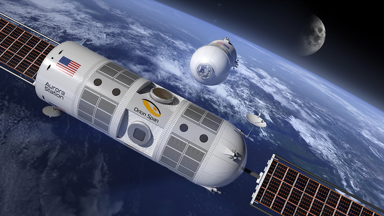 Estação Espacial Aurora vai abrigar hotel de luxo para turistas