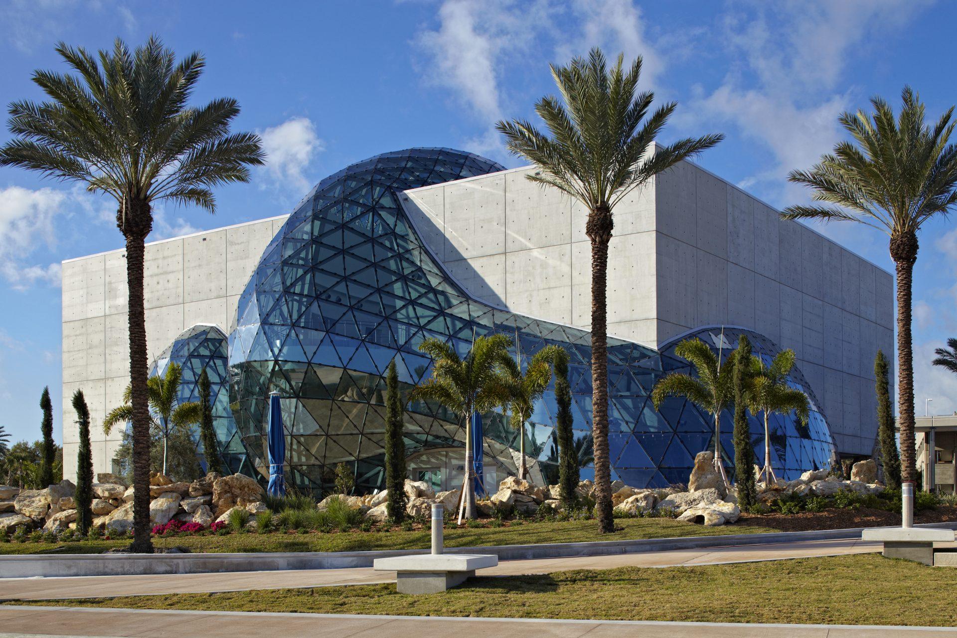 O The Dali Museum é uma das grandes atrações de St. Petersburg